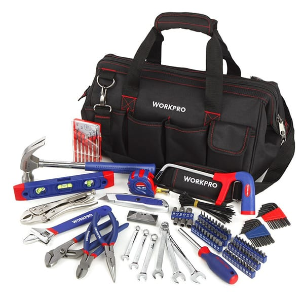 WORKPRO 156-piece Home Repairing Tool Set Review