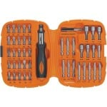 Black & Decker 71-945-5 Drilling and Screwdriving Set, 45-Piece