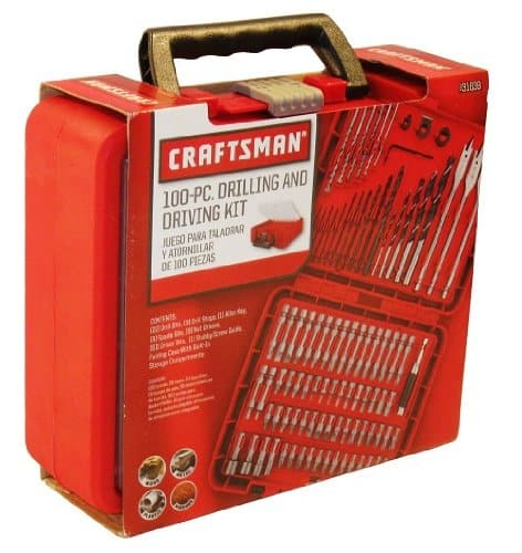 Craftsman 100 Piece drilling and driving kit Review