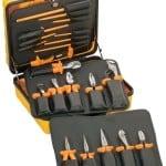 Klein 33527 1000-Volt General Purpose Insulated Tool Kit, 22-Piece