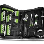 MasterTEC Mastertec Compact 75Pc Tool Set in Zippered Cloth Storage Case