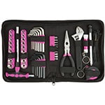 The Original Pink Box Tool Set with Case, Pink, 85-Piece